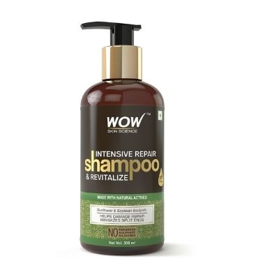 WOW Skin Shampoo - 300 ml Worth  Rs 599 in just Rs 399 + Extra 15% Discount with coupon code+ Extra CC Cashback