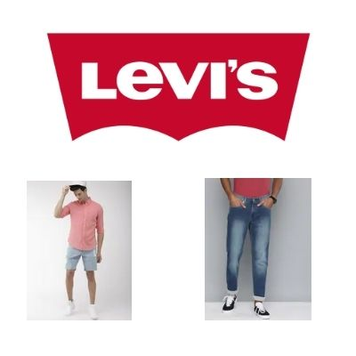 Levis Mens and Womens Clothings at minimum 40% Off + Earn extra Cashback