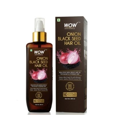 WOW Skin Science Onion Black Seed Hair Oil - 16% Off