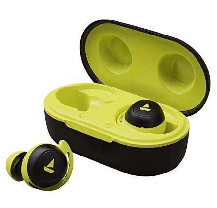 boAt Airdopes 441 TWS Ear-Buds with IWP Technology, Immersive Audio, Up to 30H Total Playback, IPX7 Water Resistance 1999 Only