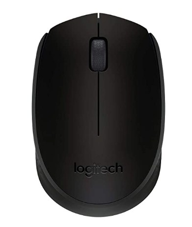 Logitech B170 Wireless Mouse, 2.4 GHz with USB Nano Receiver, Optical Tracking, 12-Months Battery Life @549/-  Only