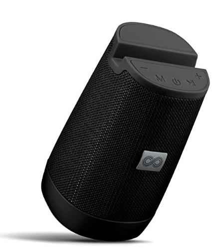 Crossloop Drom 3W Portable Speaker with Built-in Smartphone Stand for Video Calls @1025/-