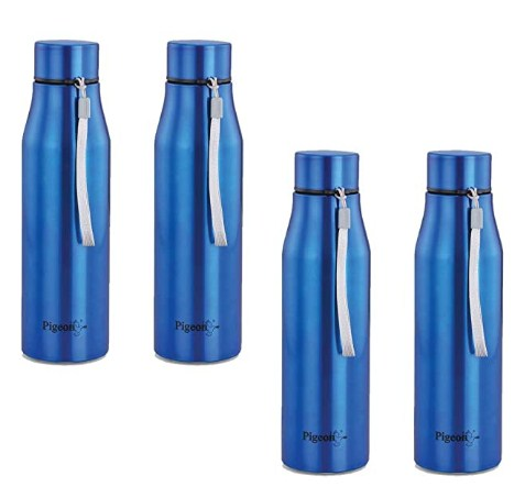 Pigeon - Glamour Water Bottle 1000ml Set of 4 @1018/-