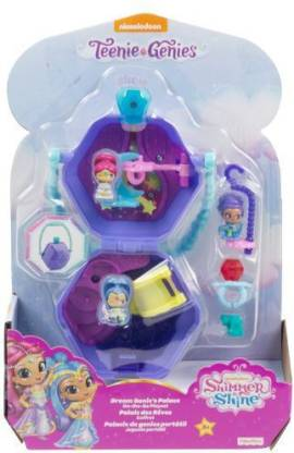 Fisher-Price Teenie Genies Dream Genie's Palace On the Go Playset  (Multicolor) @390