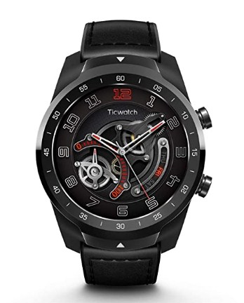 Mobvoi Ticwatch Pro, Premium Smartwatch with Layered Display for Long Battery Life, NFC Payment and GPS Build-in @11999