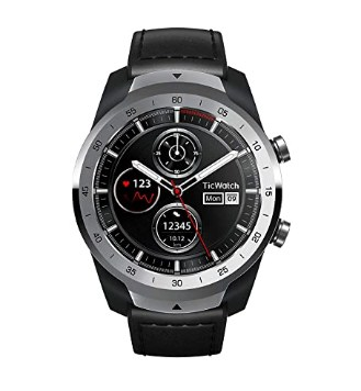 Mobvoi Ticwatch Pro, Premium Smartwatch with Layered Display for Long Battery Life, NFC Payment and GPS Build-in @12999