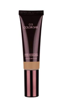 Colorbar Cosmetics 24Hrs Weightless Liquid Foundation, FC 6.2, 25 ml @418