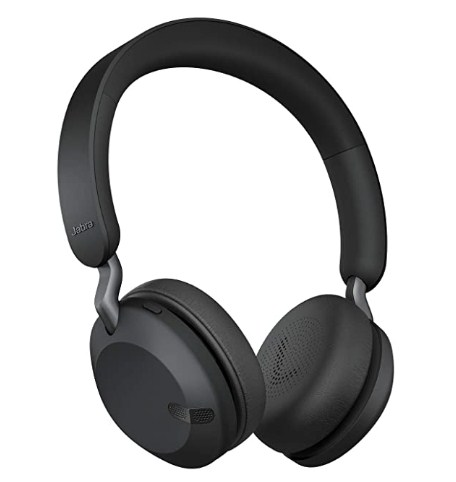 Jabra Elite 45h, On-Ear Wireless Headphones with Up to 50 Hours of Battery Life, Superior Sound with 40mm Speakers @4,499