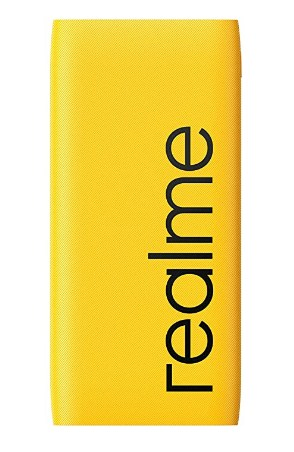 realme 10000mAh 12W Quick Charge Li-Polymer Power Bank 2i (Yellow, Slim Design, Dual Input Ports) Only For Rs. 49/-
