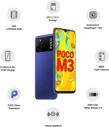 POCO M3 Only for Rs. 10,999/-
