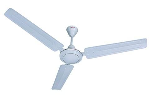 Lifelong Glide 1200mm Ceiling Fan, White (High Speed, 2 years Warranty, ISI Certified) @969