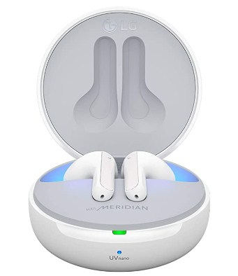 LG Tone Free Wireless Earbuds 99.9% Bacteria Free, Prestigious British Meridian Sound with ANC @15,990/-