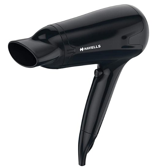 Havells HD3162 Men's Hair Dryer with Thin Concentrator -1565 W (Black) @1,199