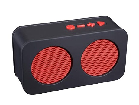 Live Tech BS01 Melody Portable Wireless Bluetooth Speakers (Red) @399