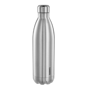 Amazon Brand - Solimo Double Walled Insulated Stainless Steel Flask (1000 ml) @689