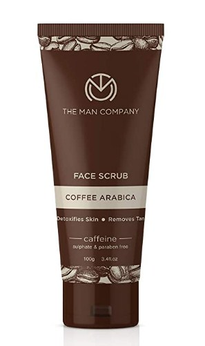 The Man Company Caffeine Face Wash with Coffee Arabica & Green Tea | Deep Cleansed, Rejuvenates | 100 ml @237