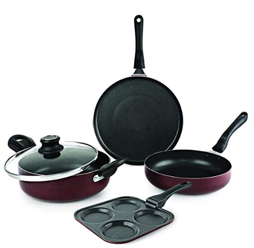 Cello Prima Uttapam Non Stick Combo, Cherry @1,676