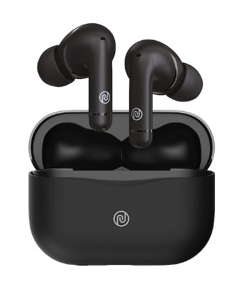 NOISE : Unisex Black Solid Buds Solo ANC Truly Wireless Earphones @4,999