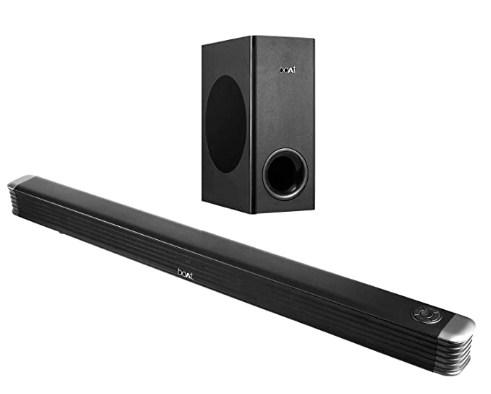 boAt AAVANTE Bar 1800 120W 2.1 Channel Bluetooth Soundbar with boAt Signature Sound, Wireless Subwoofer @6,999