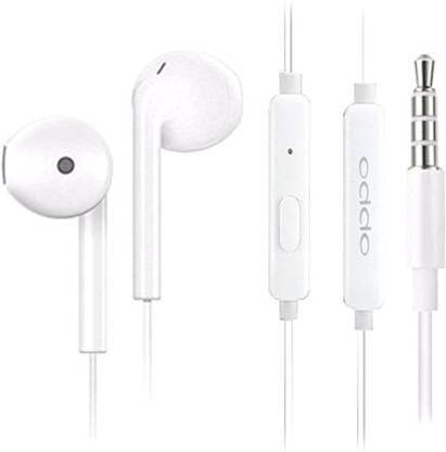 OPPO 3.5mm-Jack Wired Headset  (White, In the Ear) @162