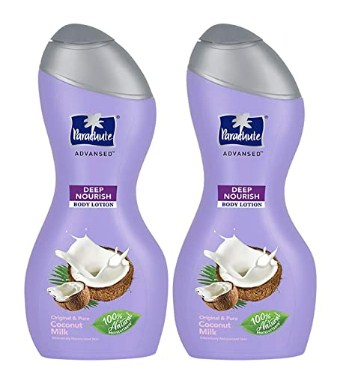 Parachute Advansed Body Lotion Deep Nourish, With Pure Coconut Milk, 100% Natural, Dry Skin Moisturizer, Winter Body Lotion @274
