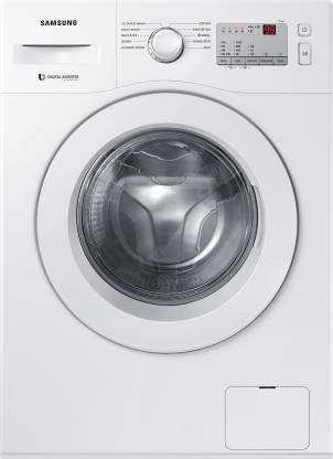 Samsung 6 kg 5 star Inverter Fully Automatic Front Load with In-built Heater White @21,990