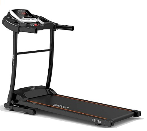 Fitkit FT098 Series 1.5HP (2HP Peak) Motorized Treadmill With Free Diet & Fitness Plan @18,099