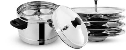 Pigeon Stainless Steel 4 Plates Induction & Standard Idli Maker  (4 Plates , 16 Idlis ) @689