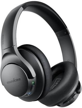 Soundcore Life Q20 With Hybrid Active Noise Cancellation Enabled Bluetooth Headset  (Black, On the Ear) @3,999