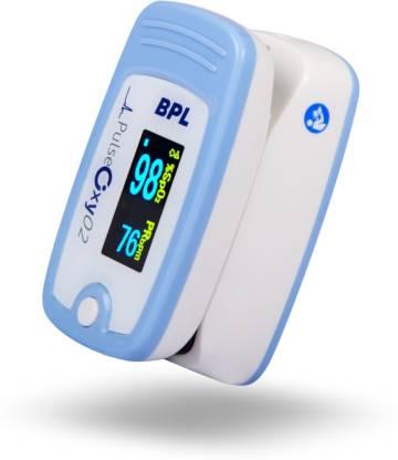 BPL Medical Technologies Bpl Fingertip Pulse Oximeter Pulse Oxy 02 Pulse Oximeter  (White) @899