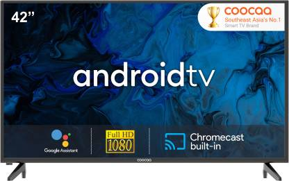 Coocaa 106 cm (42 inch) Full HD LED Smart Android TV  (42S6G) @17,999
