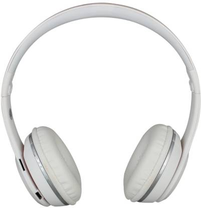 5PLUS MB4W Bluetooth without Mic Headset  (White, On the Ear) @499