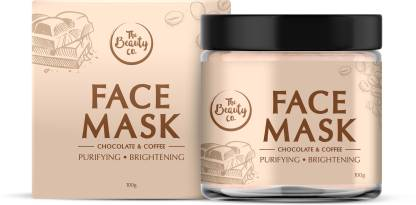 The Beauty Co. Chocolate Coffee Face Mask | Made in India  (100 g) @148