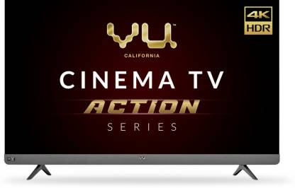 Vu Cinema TV Action Series 139 cm (55 inch) Ultra HD (4K) LED Smart Android TV with Dolby Vision  (55LX) @48,999
