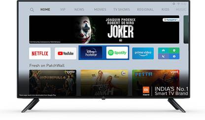 Mi 4A 100 cm (40 inch) Full HD LED Smart Android TV with With Google Data Saver @22,999