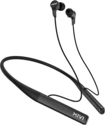 Mivi Collar 2A with Fast Charging Bluetooth Headset  (Black, In the Ear) @999