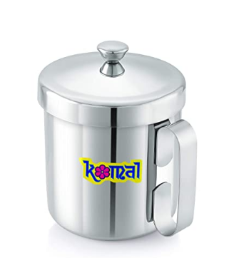 komal Stainless Steel Multipurpose Oil N Juicer,1000 MI,Silver, Standard @430
