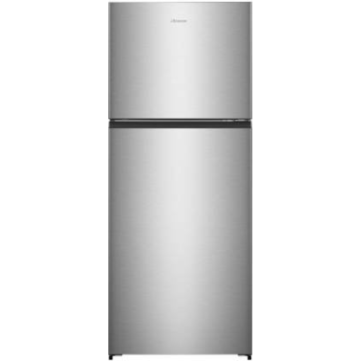 Hisense 411 L Frost Free Double Door 2 Star Refrigerator  (STAINLESS STEEL, RT488N4ASB2) @29,990