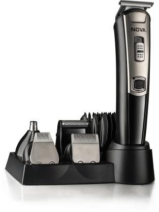 NOVA NG 1153 Digital USB Runtime: 160 Mins Trimmer for Men  (Black) @1,349