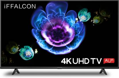 iFFALCON by TCL 126 cm (50 inch) Ultra HD (4K) LED Smart Android TV  (50K61) @27,999