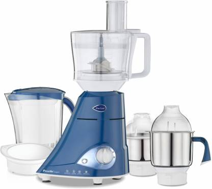 Preethi Blue Leaf Expert MG 214 750 W Juicer Mixer Grinder  (Blue, 4 Jars) @5,430