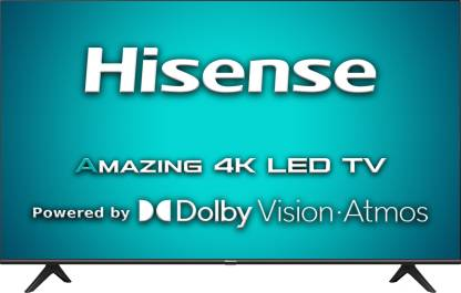 Hisense A71F 139 cm (55 inch) Ultra HD (4K) LED Smart Android TV with Dolby Vision & ATMOS  (55A71F) @40,490