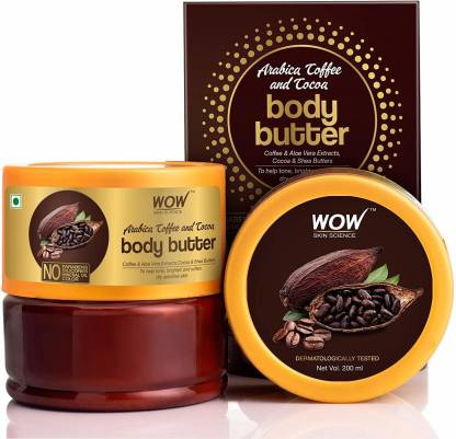 WOW SKIN SCIENCE Arabica Coffee and Cocoa Body Butter @199
