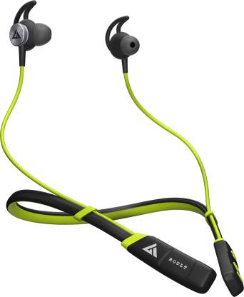 Boult Audio Pro Bass Curve Pro Bluetooth Headset  (Green, In the Ear) @1,299