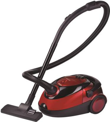 Inalsa Easy Clean Dry Vacuum Cleaner with Reusable Dust Bag  (Red, Black) @3,199