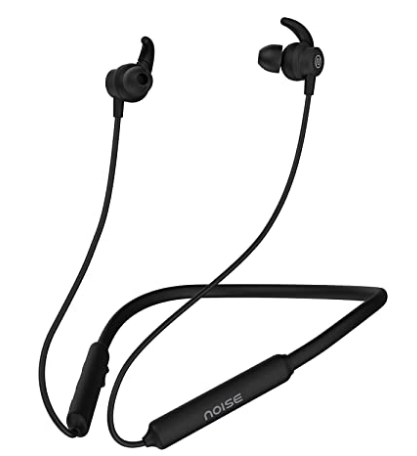 Noise Tune Active Wireless Neckband Headphones with Mic, IPX5 Sweat & Water Proof, 10 Hours Playtime, Dual Pairing @899