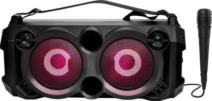 boAt PartyPal 60 20 W Bluetooth Party Speaker  (Space Black, Stereo Channel) @2,999