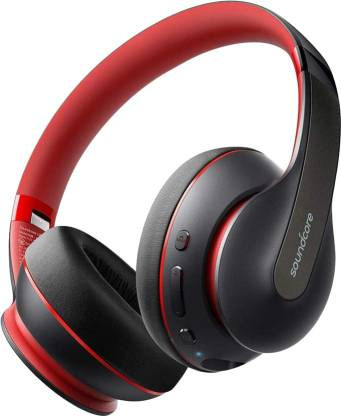 Soundcore Life Q10 with Fast Charging Bluetooth Headset  (Black, On the Ear) @1,549