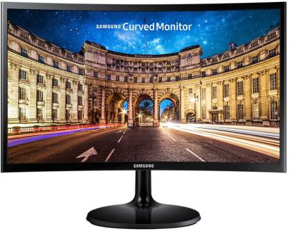 SAMSUNG 23.8 inch Curved Full HD LED Backlit VA Panel Monitor (LC24F390FHWXXL) @9,515