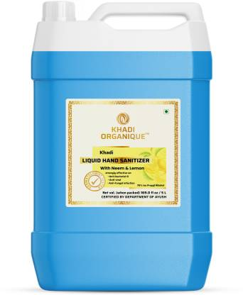 khadi ORGANIQUE Hand sanitizer kills 99.99% germs and infection without water with triple action formula sanitizes hands @789